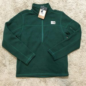The North Face Mens Green Fleece Sweater Sz Small